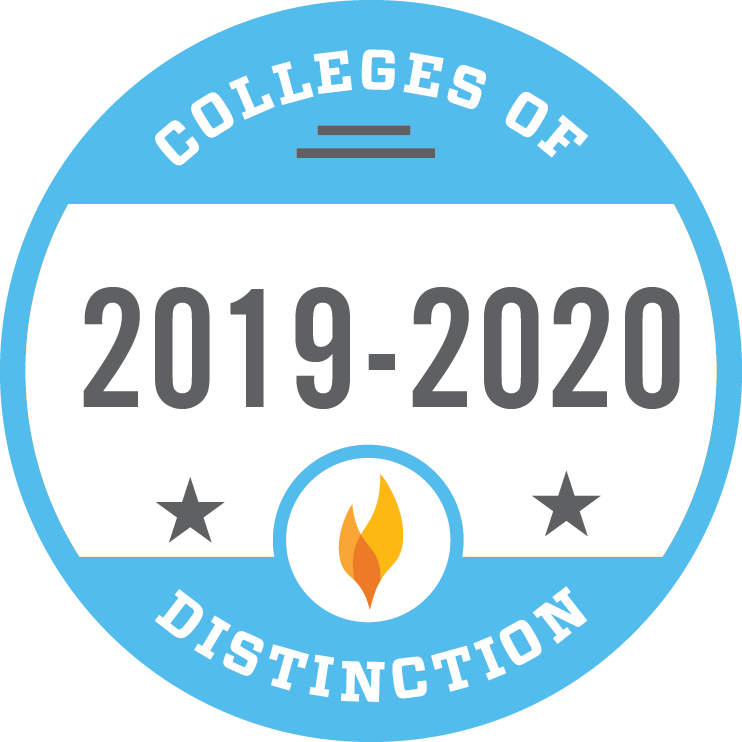 Wells College has been awarded the College of Distinction badge