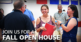 sign up for a fall open house at Wells College