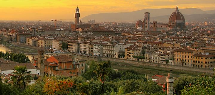 florence, italy skyline