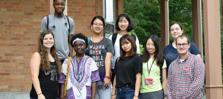 Wells College welcomes international students