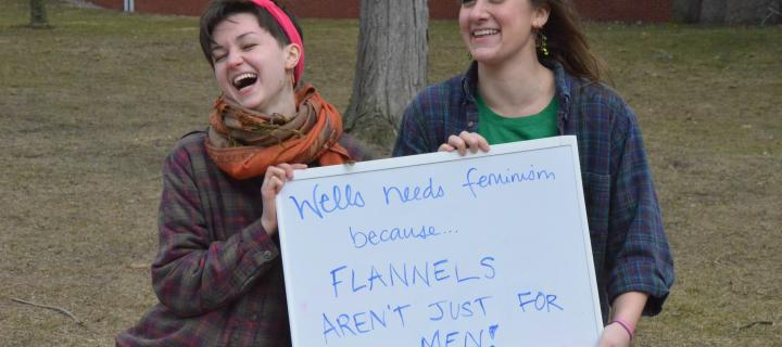 Feminism matters because flannels aren't just for men