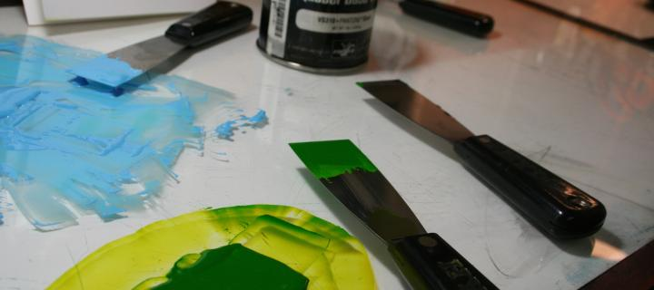 Inks and paints