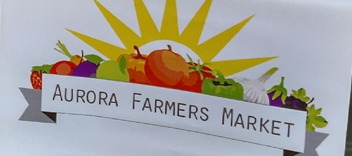 Wells  summer intern for the Aurora Farmers Market