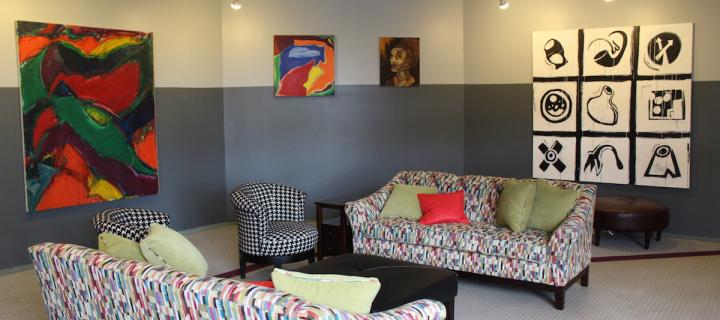 Library Lower Lounge