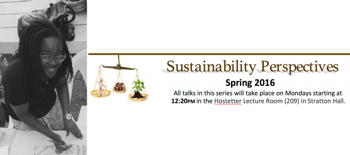 Richaela Primus and Sustainability Perspectives Series logo