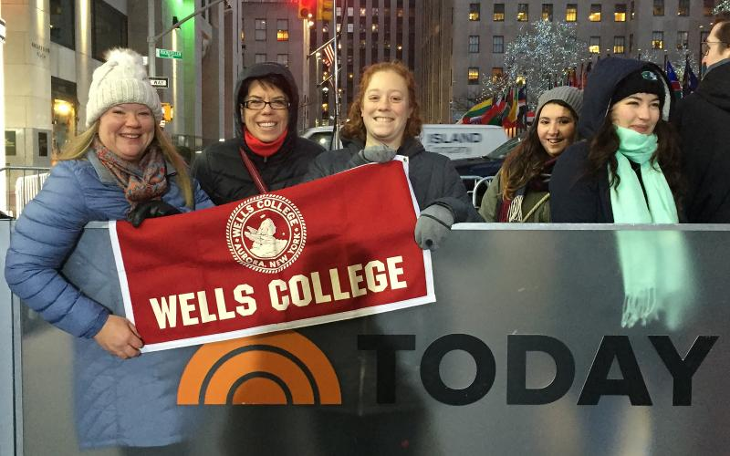 Wells staff in New York City
