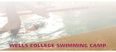 swimmer in college pool