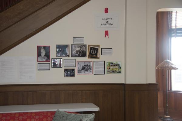 History Display in Faculty Parlors