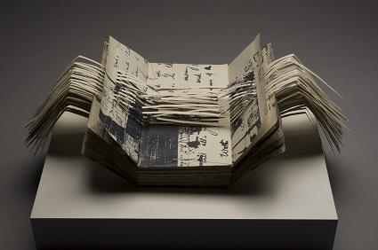Altered Book Sculpture by Jozef Bajus