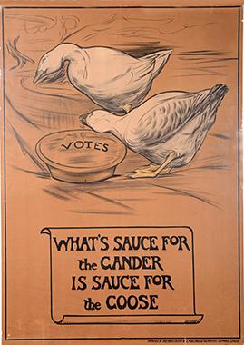 Suffrage Poster by Mary Sargant Florence