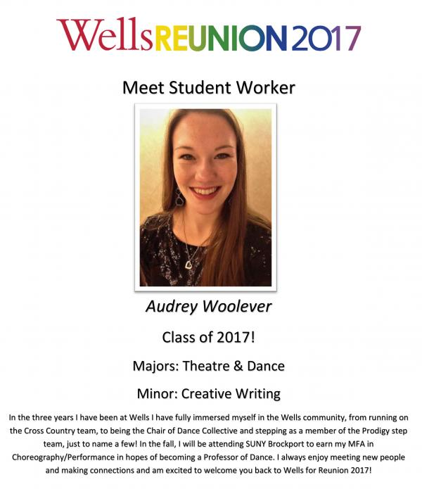 Audrey Woolever '17