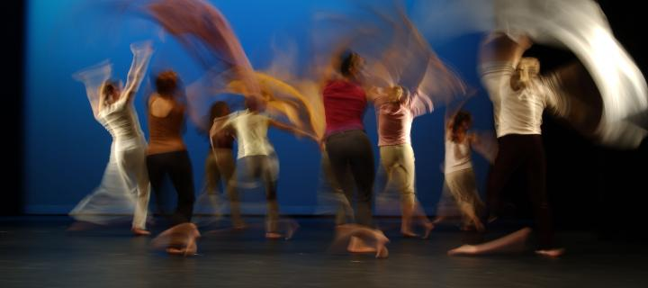 The movement of dance