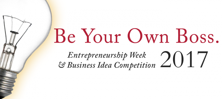 lightbulb and be your own boss graphic