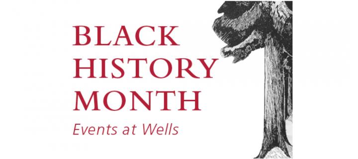 black history month title graphic