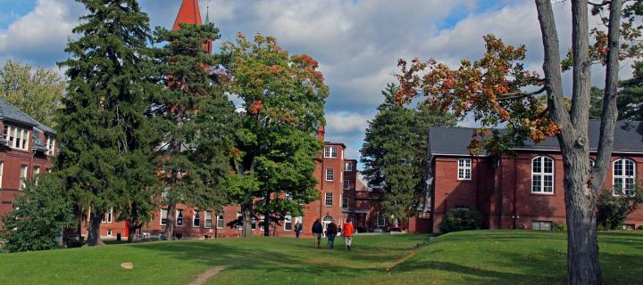 summer view of smith hall and main building