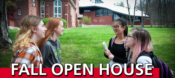 Attend Wells College Fall Open House