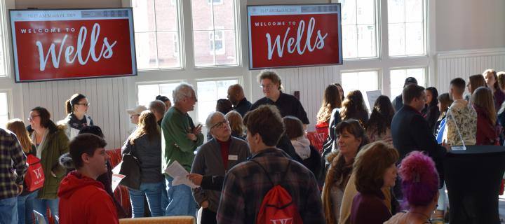 Admitted students at the Wells Community Social