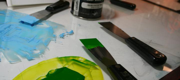 mixing ink for printing class