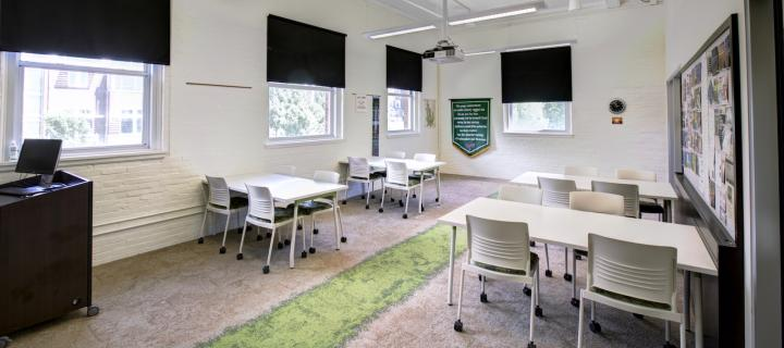 center for sustainability and the environment classroom