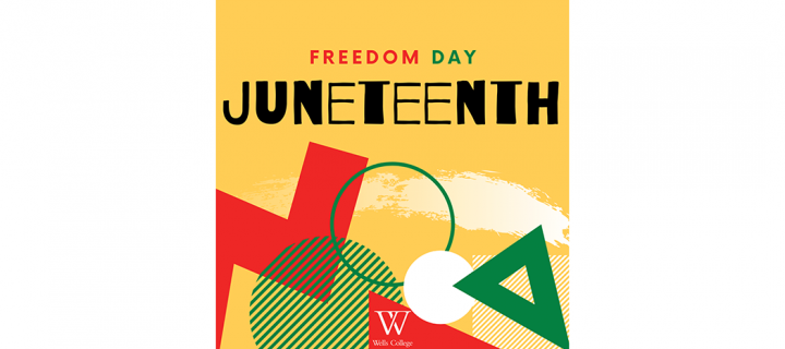 Juneteenth graphic with headline,