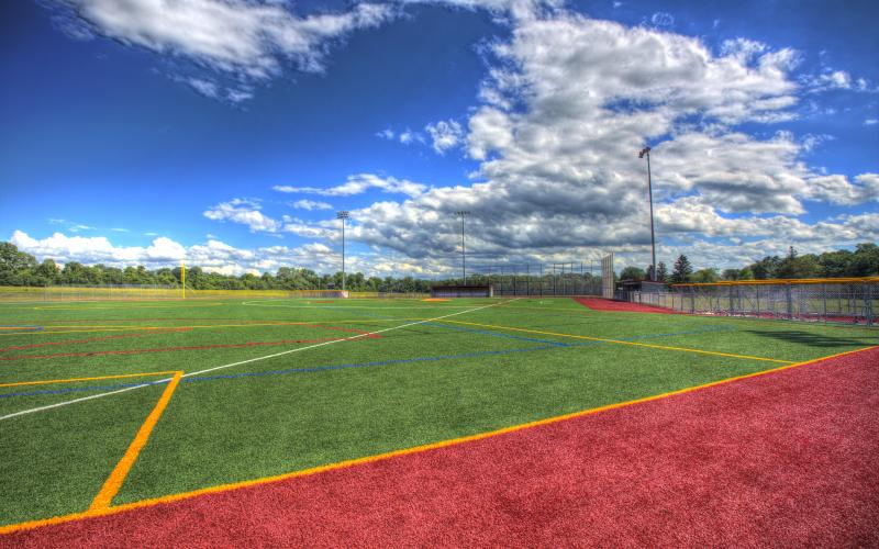 Wells College multiseason multisport turf field