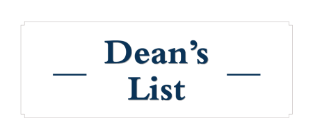 Dean's List graphic