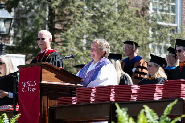 Invocation by Rev. Barb Blom '82