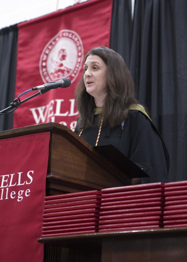 Commencement speaker Christin L. Schaaf '99