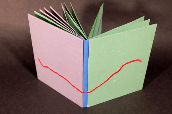 Hand Bound Book by Jenna Rodriguez