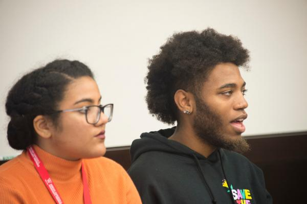 photo of two students